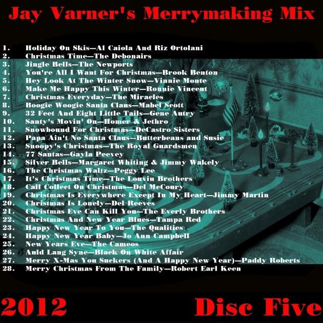 Christmas2012DiscFivePlaylist